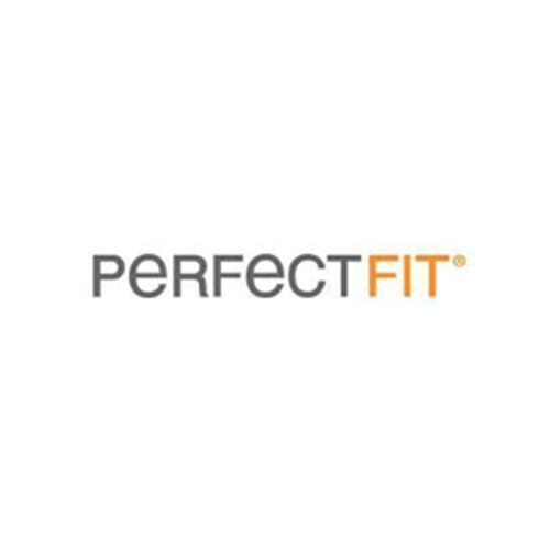 Logo for Perfect Fit Industries.