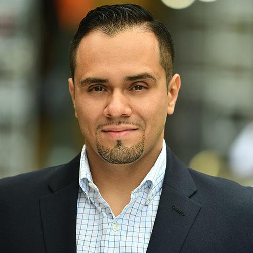 Headshot of Allen Meza.