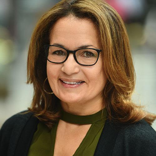 Headshot of Karen Demeusy.