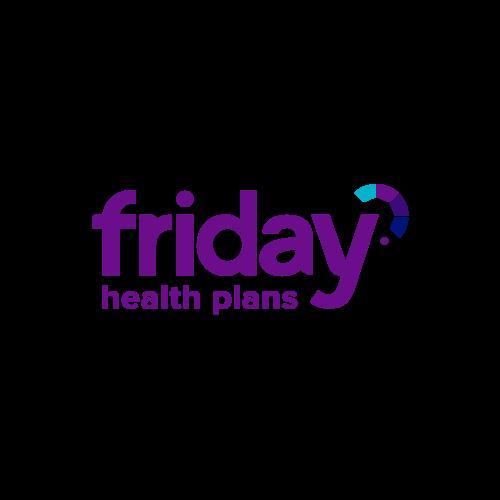 Logo for Friday Health Plans.