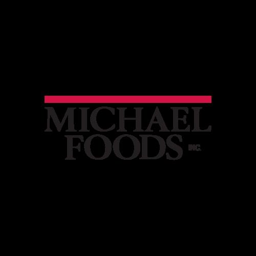 Logo for Michael Foods.