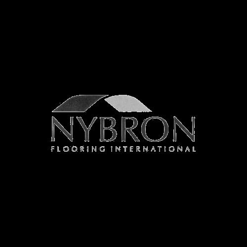 Logo for Nybron Flooring International.