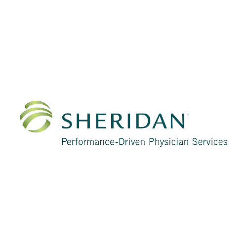 Logo for Sheridan performance-driven physician services.