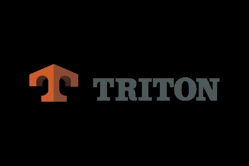 Logo for Triton.
