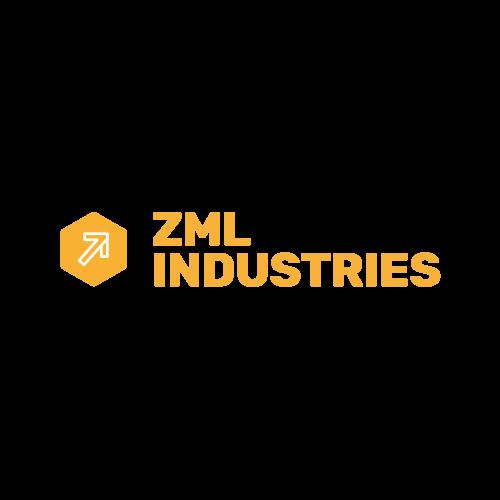 Logo for ZML Industries.