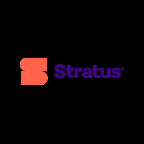 Logo for Stratus.